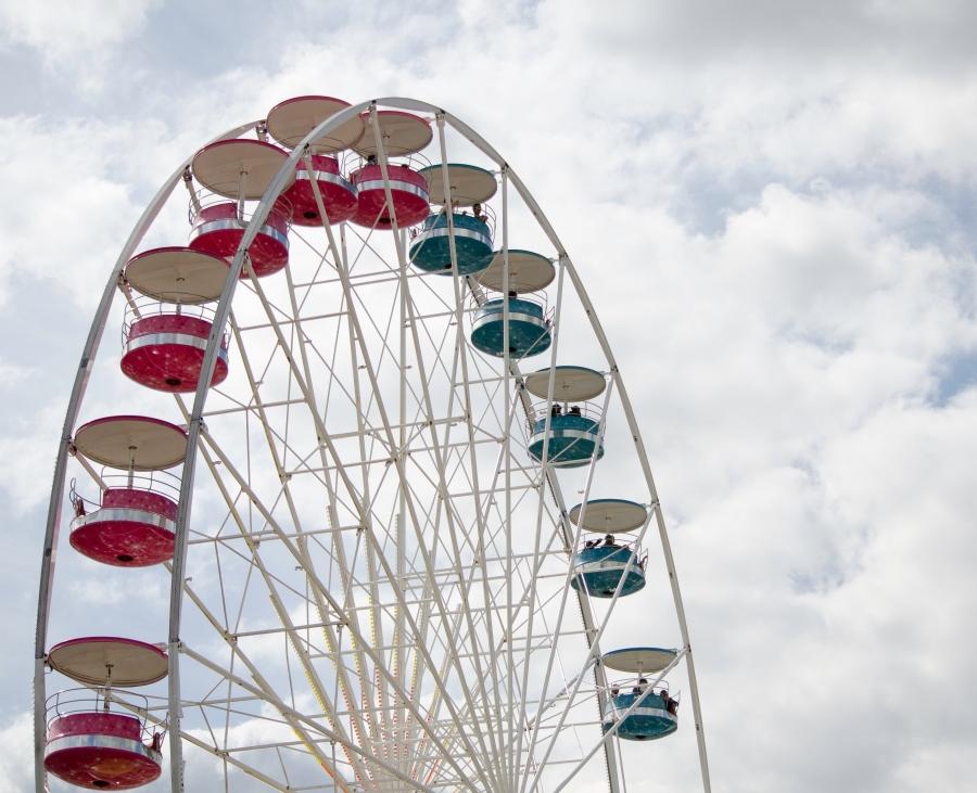 The World Famous Ferris Wheel at Le Mans. Stephen Minnig © 2013