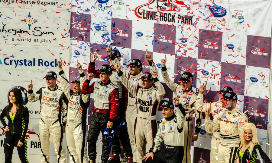 Victory Circle at Lime Rock Park (2012)