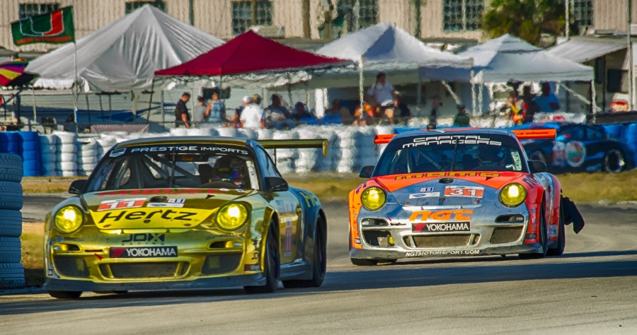 GTC Racing at the 12 Hours of Sebring (2013).