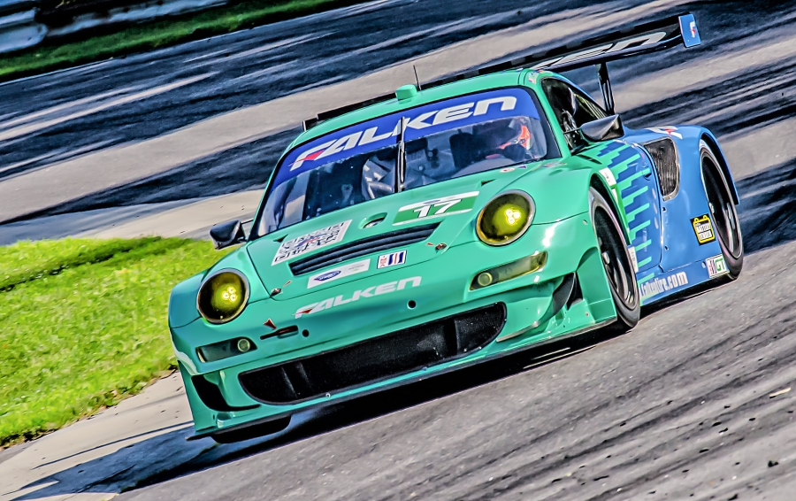 Falken Tire Porsche at West Bend. Lime Rock Park (2013)
